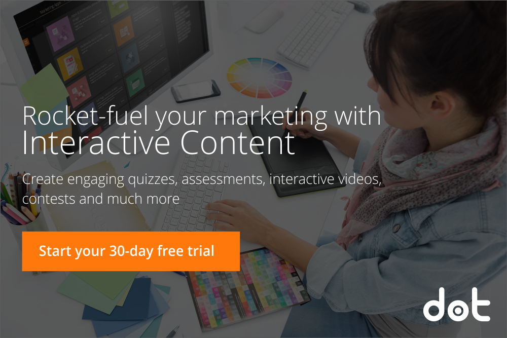 Interactive Content Marketing Platform to create quizzes, assessments, interactive videos, contests and more