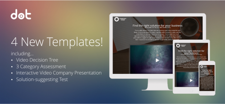 New Interactive Content Templates this December
