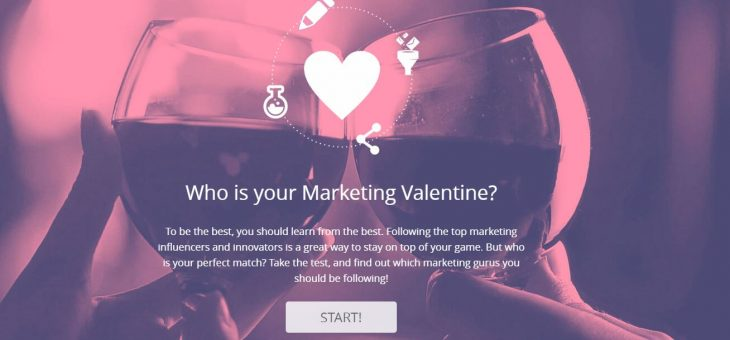 Who is your Marketing Valentine?