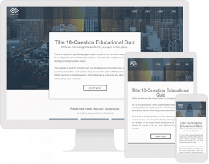 Quiz that gives feedback after every question