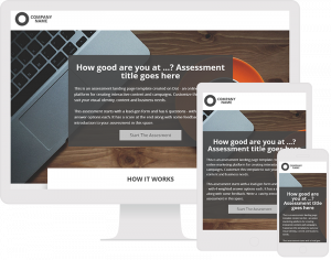 interactive content page templates on dot.vu