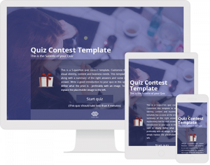 New Online Contest Templates Preview And Customize Now - Photo contest website template