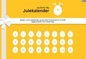 Online Advent Calender example -  Landbrug & Fødevarer
