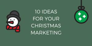 Christmas Marketing Interactive ideas