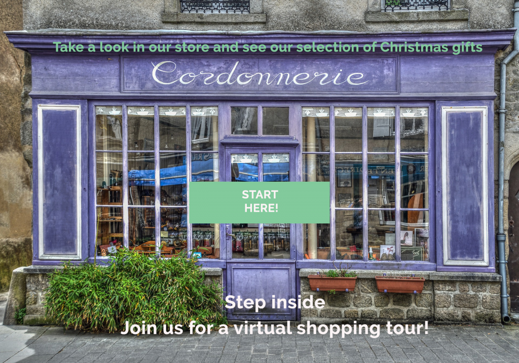 Visualization of a Virtual shopping tour to boost Christmas Marketing