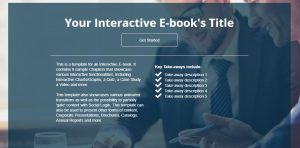 interactive-ebook can be used as a lead magnet. Giving out free content in exchange for contact information