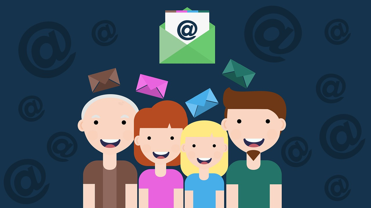 email personalization header image