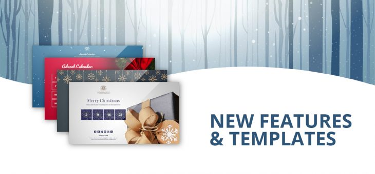 Introducing: New features and templates to help you make an impact this Christmas!
