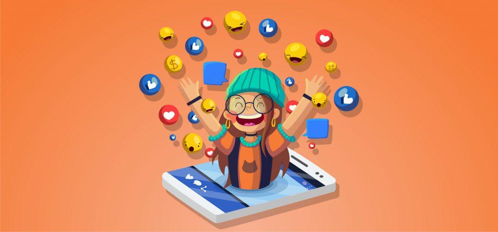 social interactive content digital experiences