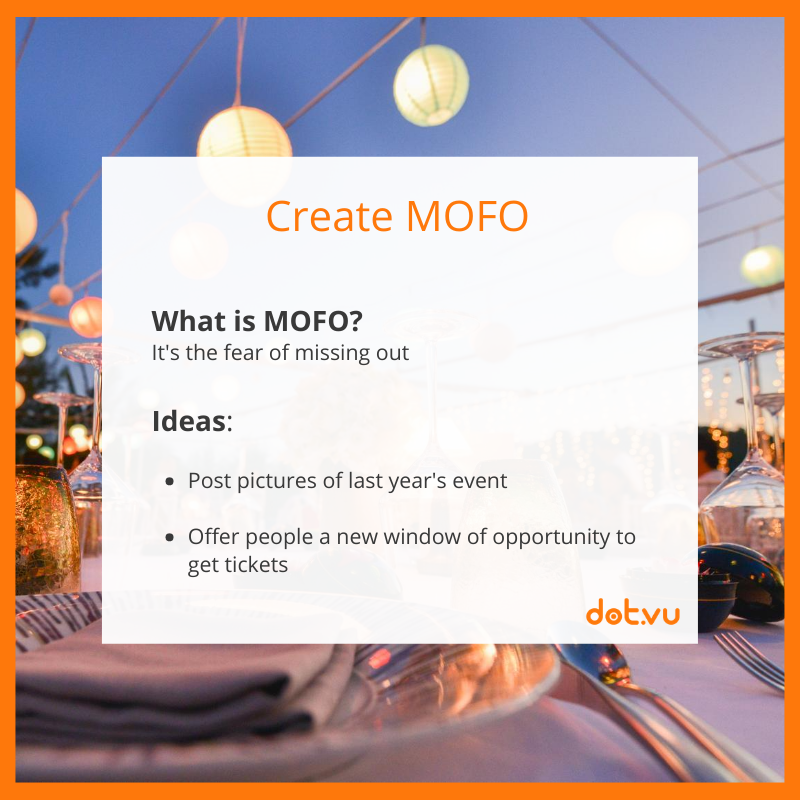 Promote an event with Interactive Content: Create MOFO