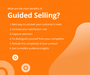 What are the benefits of Guided Selling