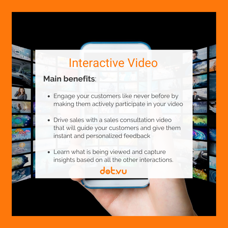 B2B interactive experiences - Interactive Video