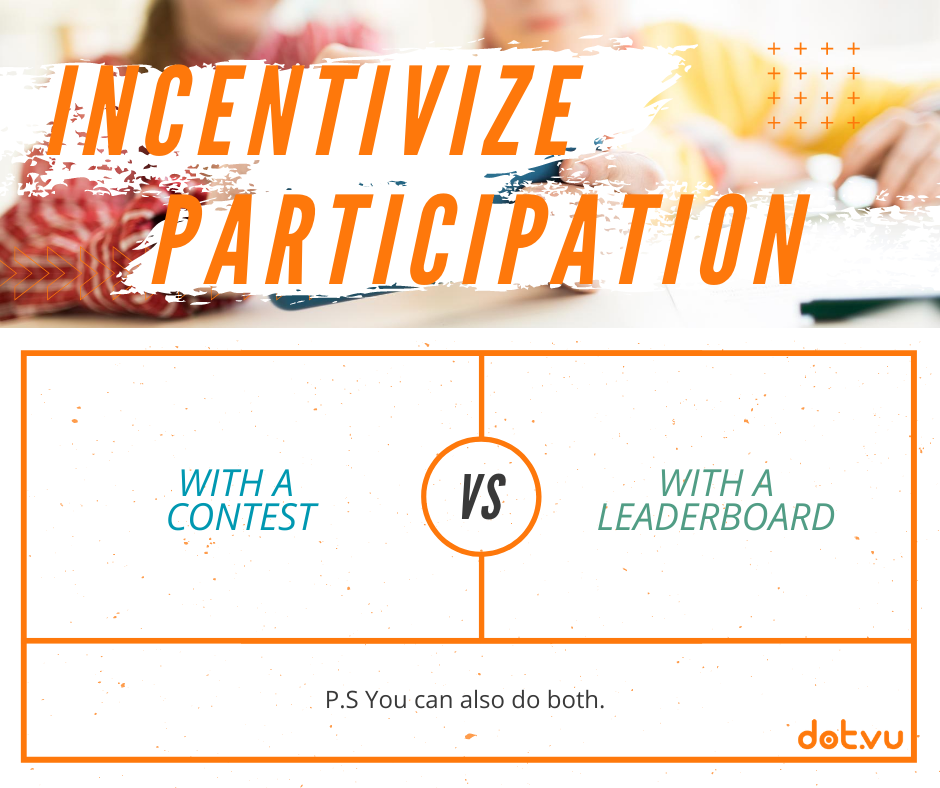How to incentivize participation