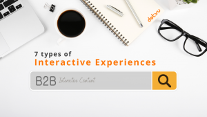 7 types of B2B interactive experiences