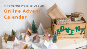 4 ways to use an Online Advent Calendar - Cover Picture