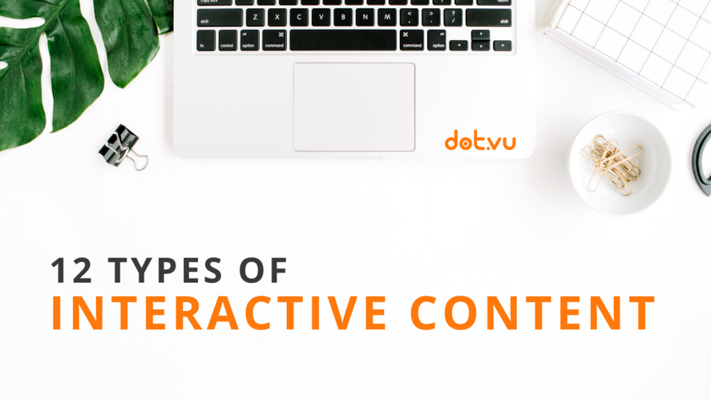 12 types of interactive content cover image