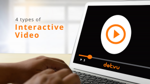 4 types of Interactive Video - Blog Post - featured image