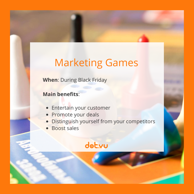 Interactive Experiences to boost sales on Black Friday: Marketing Games