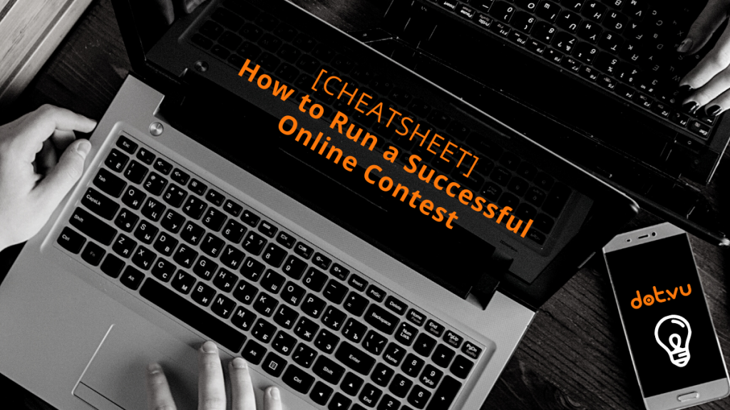 Cover image for how to run online contests