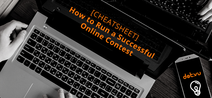 [CHEATSHEET] How to Run a Successful Online Contest