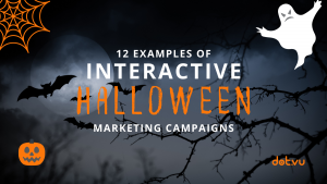 12 examples of Interactive Halloween Marketing Campaigns - Blog Post - Cover Image