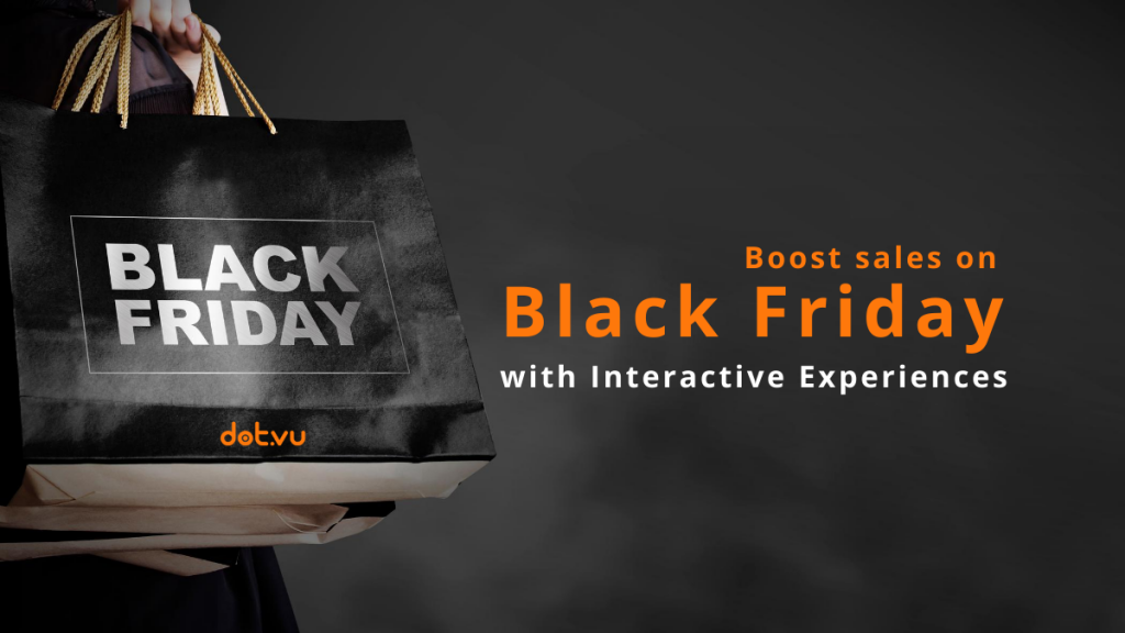 Interactive Experiences to boost sales on Black Friday - blog post - cover picture