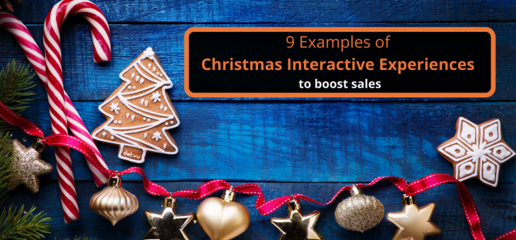 9 Examples of Christmas Interactive Experiences to boost sales