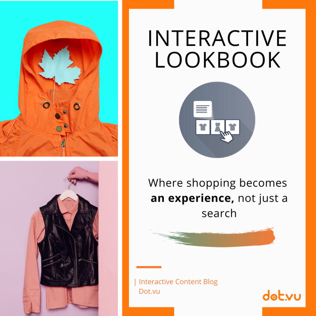 Interactive lookbook where shopping becomes an experience, not just a search.