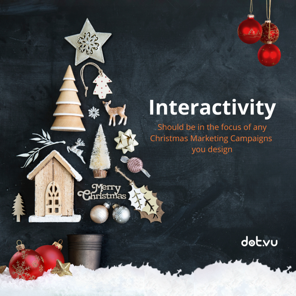 - Interactivity is the key
