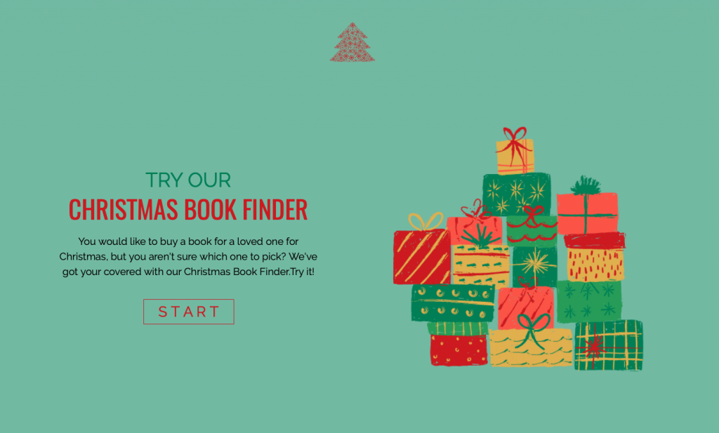 Christmas Interactive Experiences - Example of Product Recommender