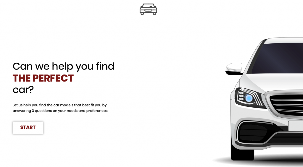 Try the example of a car recommender