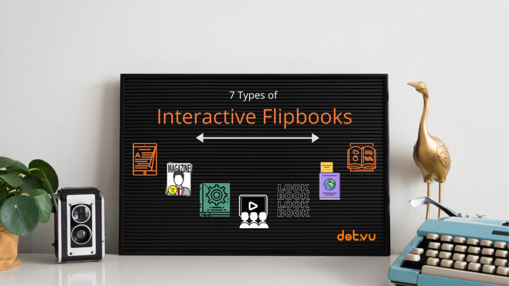 7 Types of Interactive Flipbooks to help grow your business