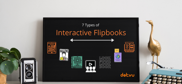 7 Types of Interactive Flipbooks