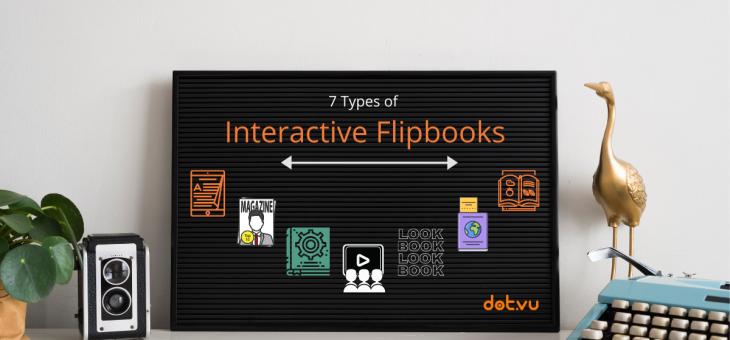 7 Types of Interactive Flipbooks