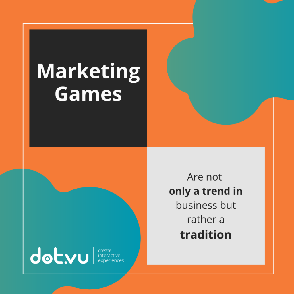 Marketing Games are not only a trend but rather a tradition