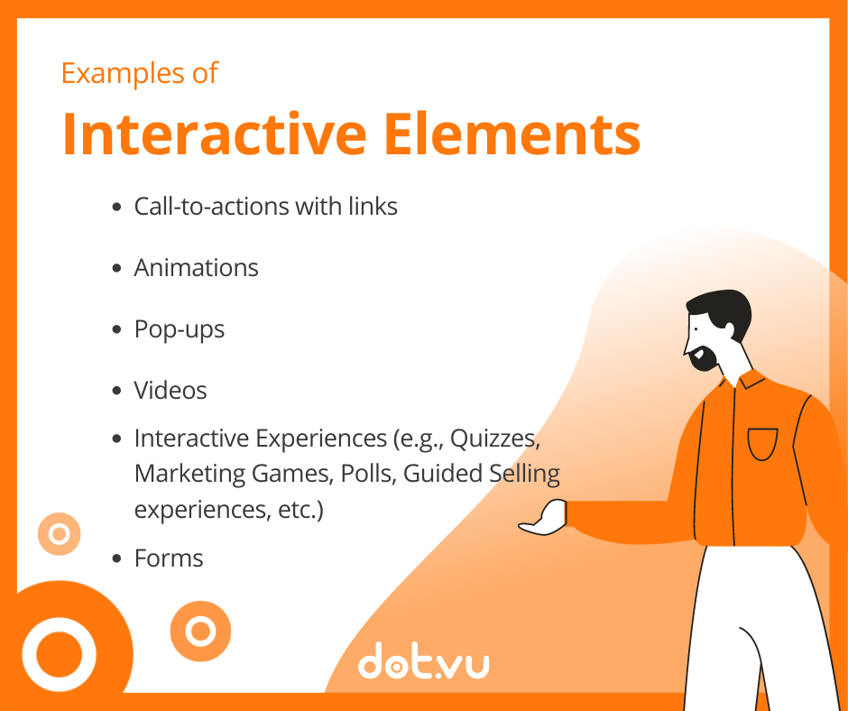 PDFs to Interactive Flipbooks - Interactive Elements to add