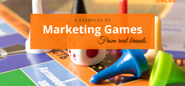6 successful examples of marketing games from real brands
