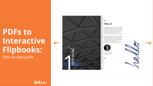 PDFs to Interactive Flipbooks - Cover Image