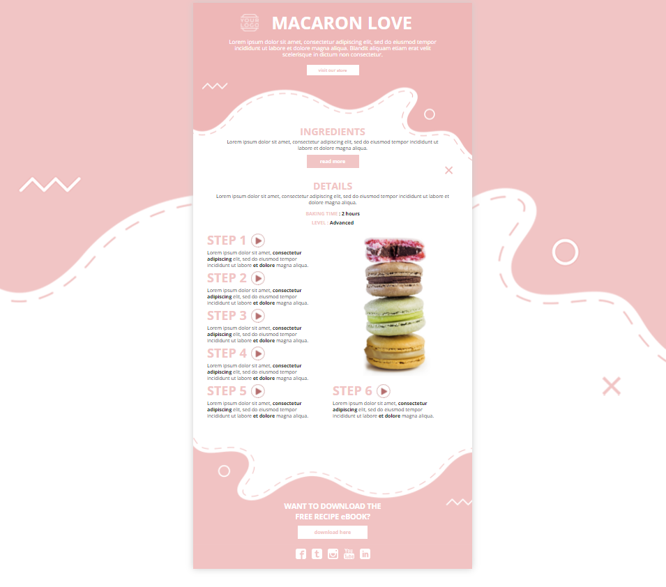 how to graphic, interactive infographic for your interactive Valentine's day campaigns
