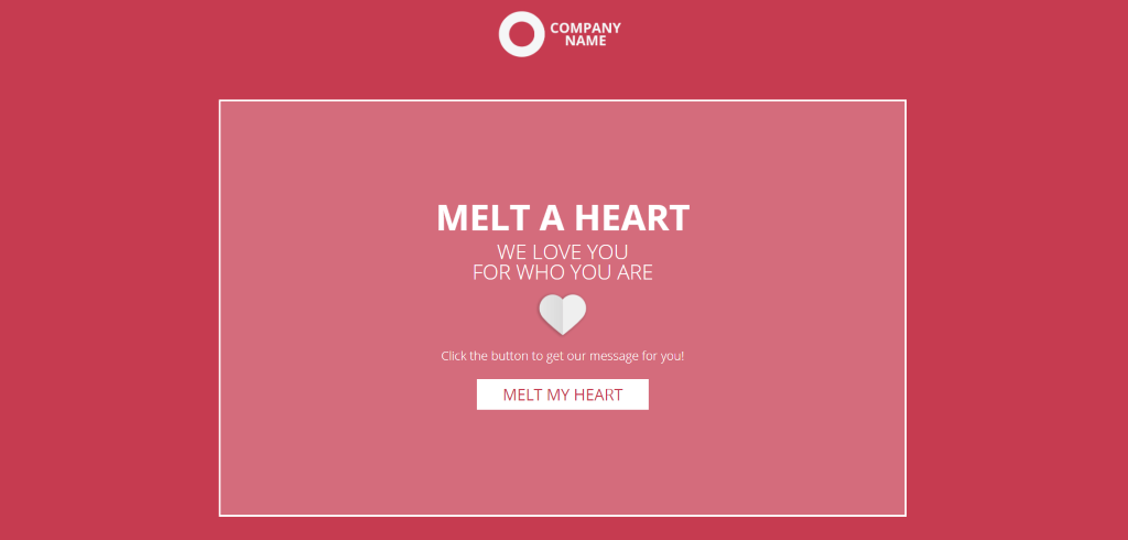 interactive Valentine's day campaigns with a quote generator