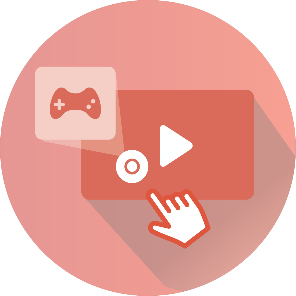 Gamified Video logo for interactive video