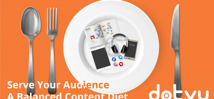 [Content Marketing Chart] Serve your Audience a Balanced Content Diet