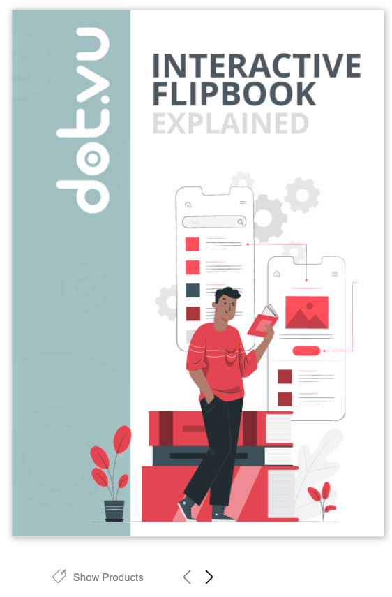 Try out the Dot.vu Interactive Flipbook example yourself by clicking this image