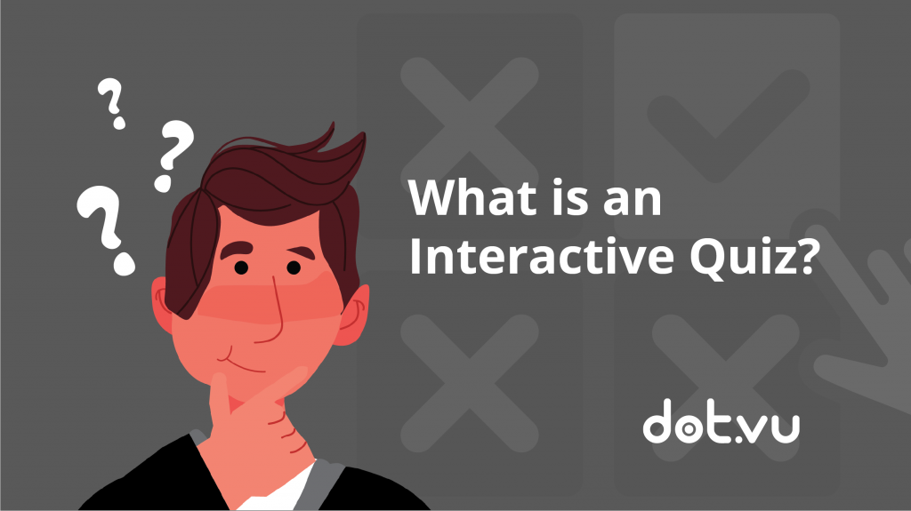 What is an interactive quiz, interactive content blog