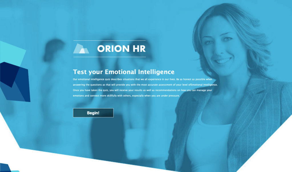 online interactive assessment for HR departments