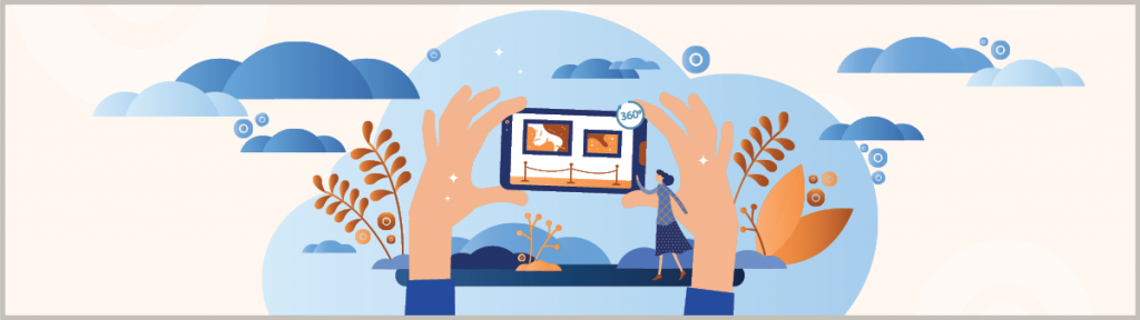 You might already know what a virtual tour is from your last virtual visit to a museum. Interactive virtual tours, add some interactivity to it and make it even more engaging for your customers.