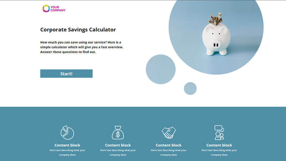 Click here to try an example of a Calculator