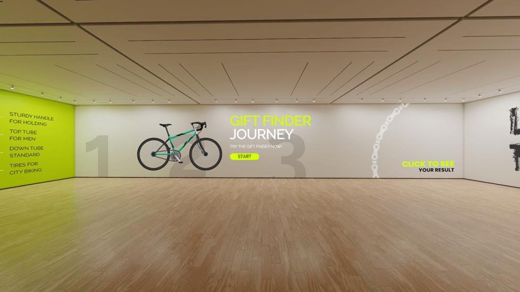 Dot.vu Interactive Virtual Showroom example